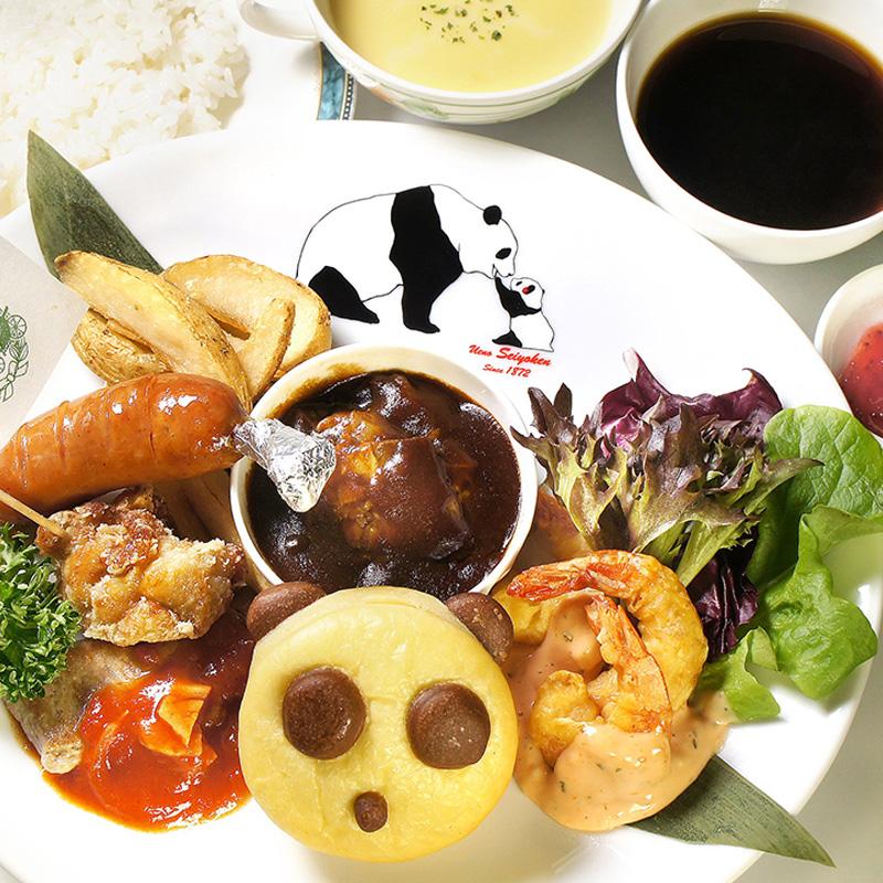 上野精養軒本店 カフェラン ランドーレ 今月のメニュー