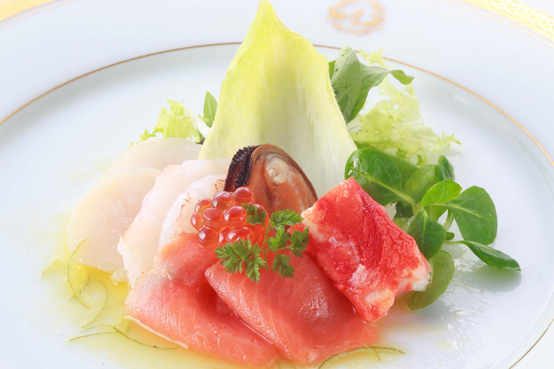 魚介類の饗宴